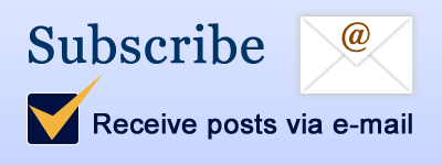 Subscribe and receive posts via e-mail